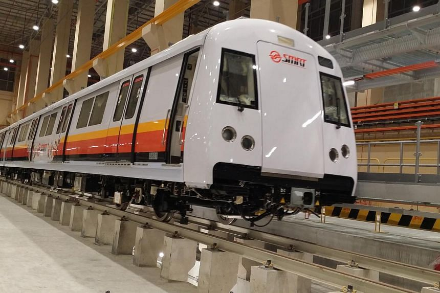 The new train has a signalling system that allows service intervals to be shortened to 100 seconds from 120 seconds now. It will undergo testing before it is introduced for passenger service from the first quarter of next year.
