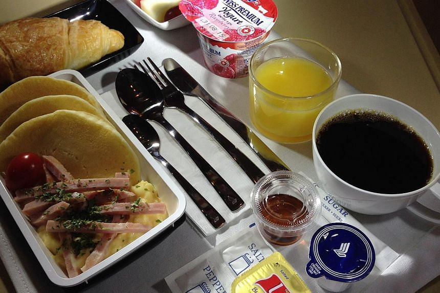 """There will be an extensive range of food and beverage offerings, which includes the """"Book the Cook service"""", allowing passengers to order a selection of main courses in advance. --ST PHOTO: ALPHONSUS CHERN"""