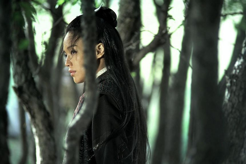 A film still provided by the Cannes Film Festival on May 21, 2015, shows Taiwanese actress Shu Qi in a scene of Nie Yinniang (The Assassin). -- PHOTO: EPA