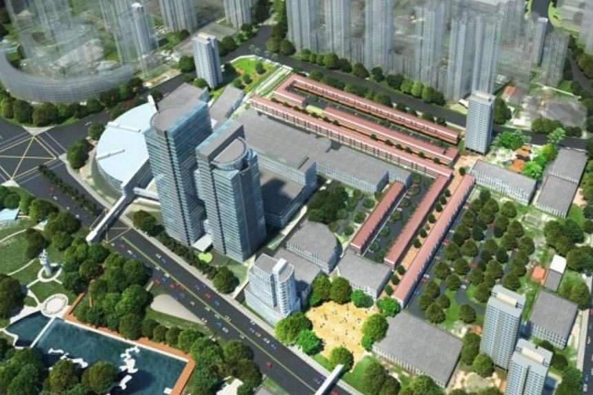 Rejuvenation of Toa Payoh Town Centre and Town Park. -- PHOTO: HDB