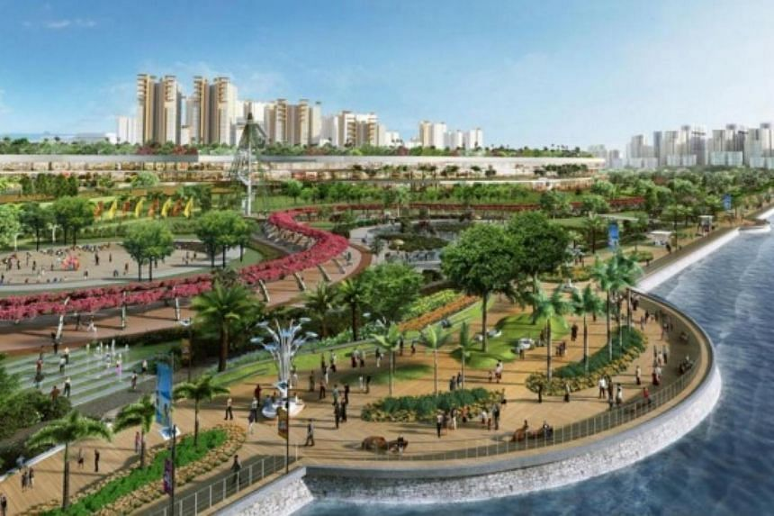 More Recreational Spaces for Woodlands Waterfront. -- PHOTO: HDB