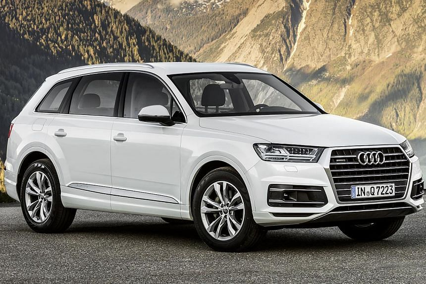Audis New Q Hides Its Bulk Well In The Way It Looks And The Way It - Q7 audi