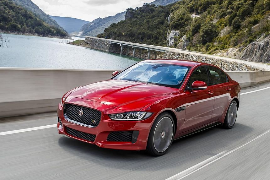 Two qualities stand out in the Jaguar XE – the car's excellent ride and steering. -- PHOTO: JAGUAR