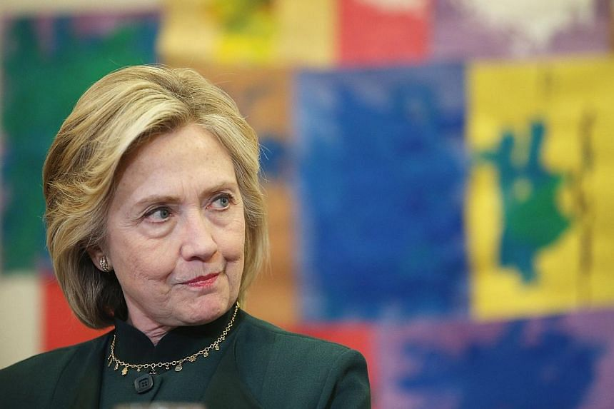 Top aides to former US Secretary of State Hillary Clinton fretted over how she would be portrayed after the 2012 Benghazi attacks that killed the US ambassador to Libya and three other Americans, e-mails released on Friday showed.-- PHOTO: AFP
