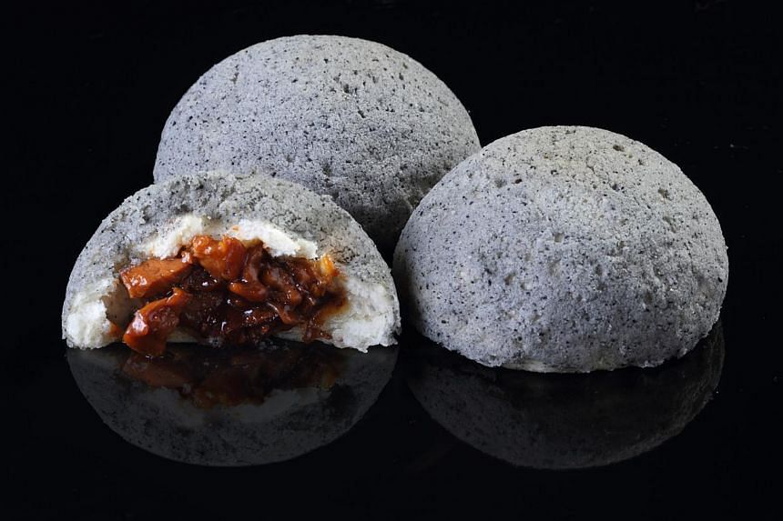 The signature black pepper London duck bun at London Fat Duck. -- PHOTO: LONDON FAT DUCK