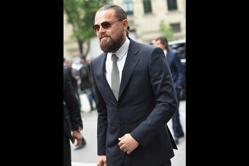 Celebrities such as Seth Rogen and Leonardo DiCaprio (above) are deemed to have the quintessential dad bod. -- PHOTO: GETTY IMAGES