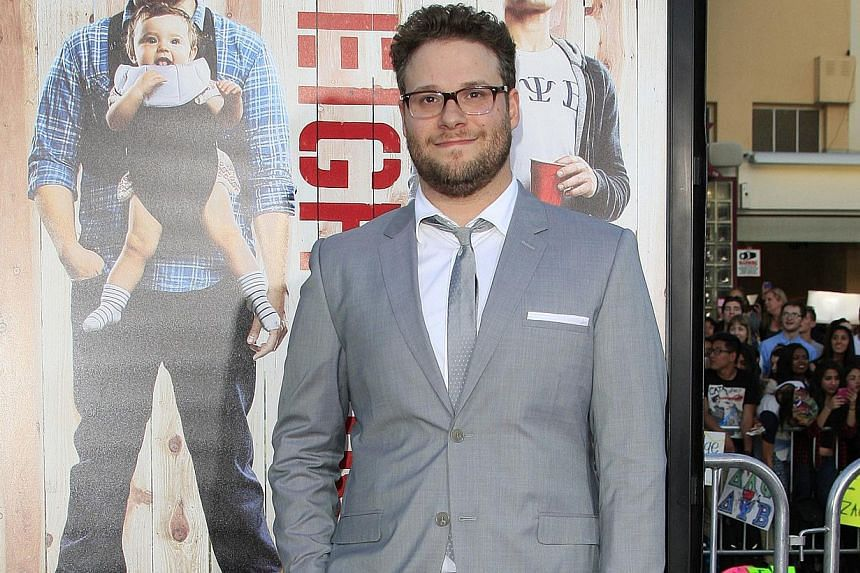 Celebrities such as Seth Rogen (above) and Leonardo DiCaprio are deemed to have the quintessential dad bod. -- PHOTO: EUROPEAN PRESSPHOTO AGENCY