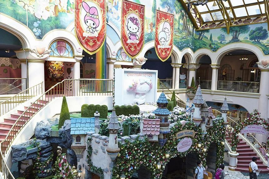Fans of Hello Kitty will be pleased to stay in either the Princess Kitty rooms or Kitty Town rooms of the Keio Plaza Hotel and visit the Sanrio Puroland theme park (above). -- PHOTO: KEIO PLAZA HOTEL