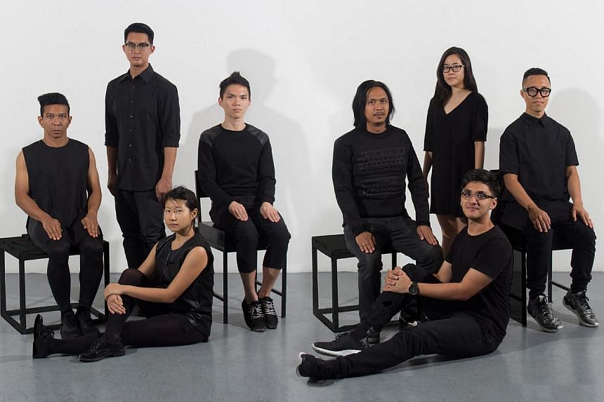 The cast of Decimal Points [INFINITY], the final instalment of Cake Theatrical Productions' experimental series spanning four years. -- PHOTO: CAKE THEATRICAL PRODUCTIONS