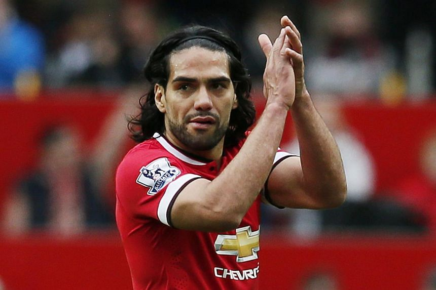 Colombian striker Falcao has parted ways with Manchester United after an unsuccessful loan at the Old Trafford club. -- PHOTO: REUTERS