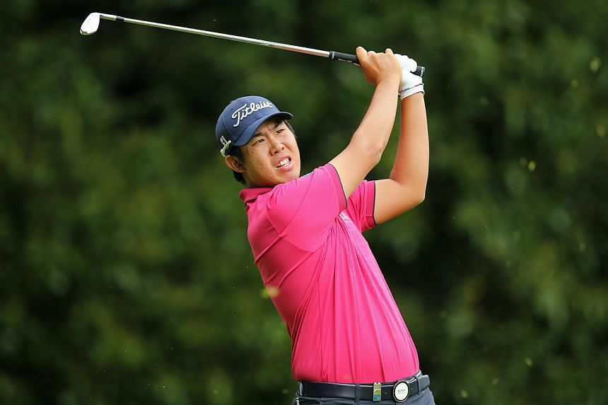 South Korea's An Byeong-hun said his life will never be the same again after he turned the European PGA Championship into a procession winning the prestigious event by six shots at Wentworth on Sunday. -- PHOTO: REUTERS