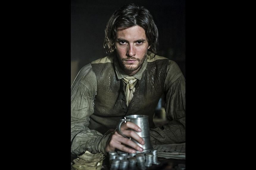 Ben Barnes did not know who Samuel Adams was before playing the historical figure in Sons Of Liberty. -- PHOTO: HISTORY