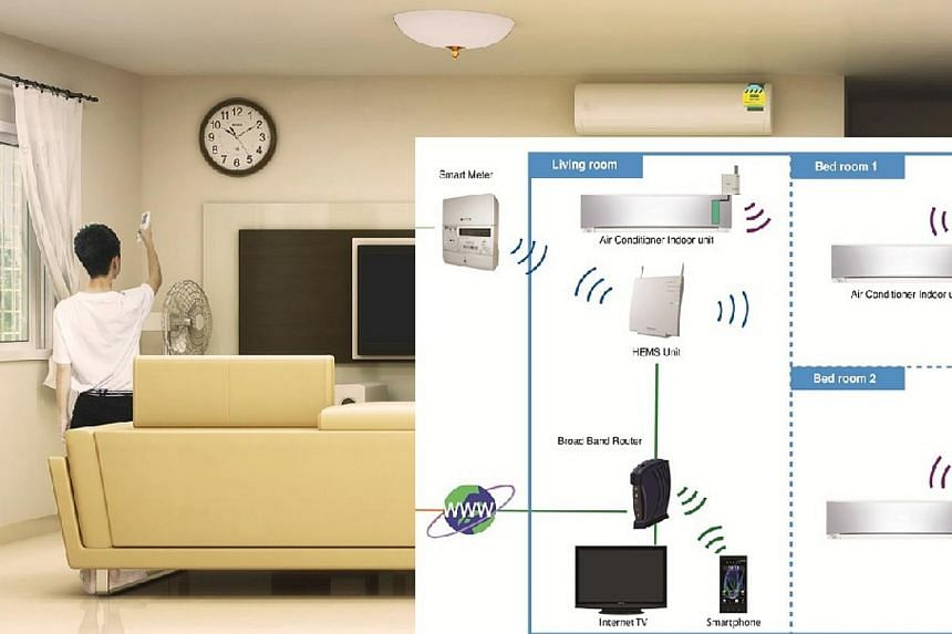 The smart living system at Punggol's Northshore District. -- PHOTO: HDB