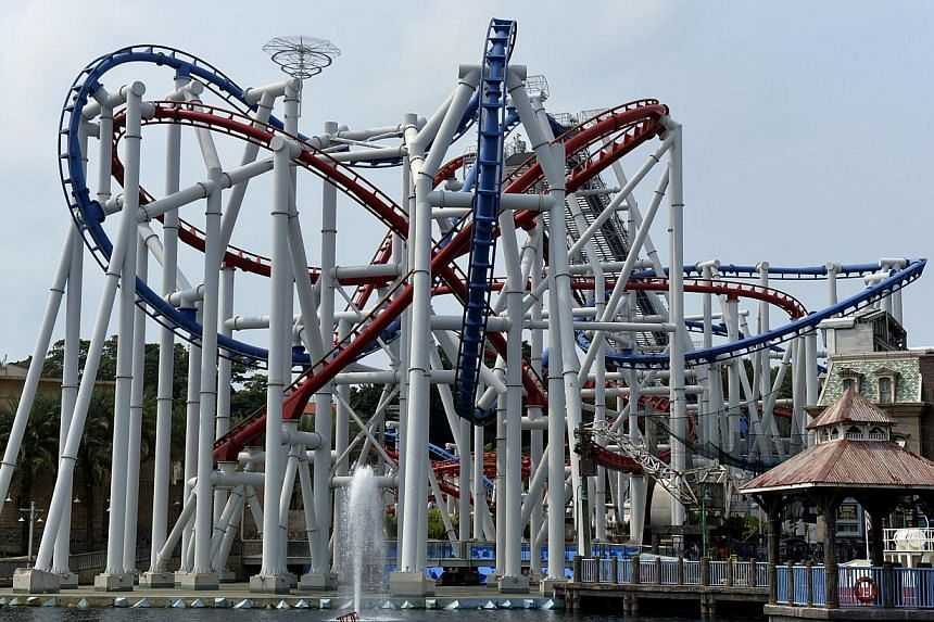 The Battlestar Galactica ride photographed on Oct 8, 2014. -- PHOTO: ST FILE