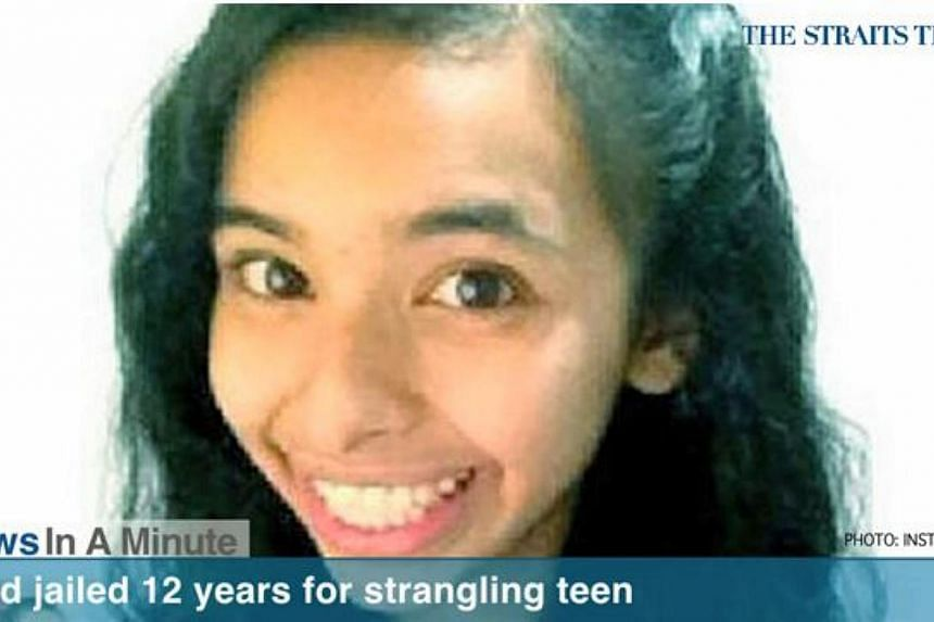 Indonesian domestic worker Tuti Aeliyah, who strangled her employer's 16-year-old daughter, was jailed for 12 years. -- SCREENGRAB FROM RAZORTV