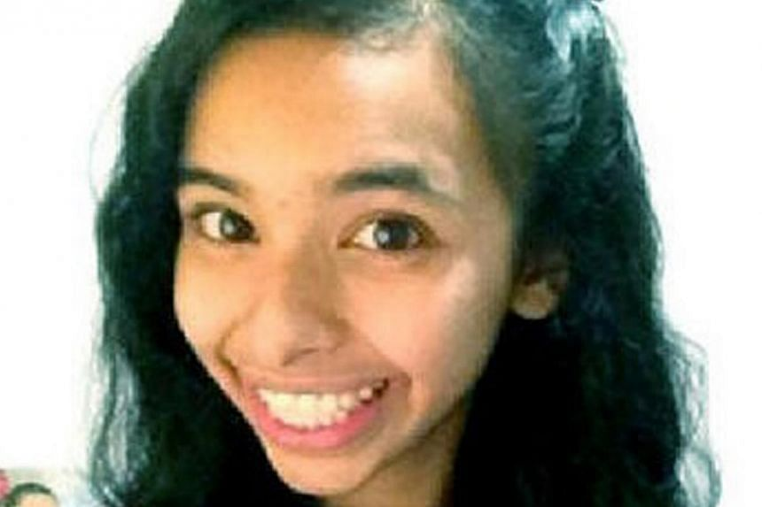 Shameera Basha, a Secondary 4 student from Tanjong Katong Girls' School, was found with two fatal stab wounds in a bedroom at her home in Tampines on Nov 14, 2013. Her family's Indonesian domestic helper, Tuti Aeliyah, was arrested and has been c