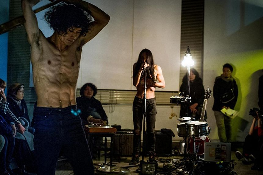 Dance Marathon - Open With A Punk Spirit! is a 16-day dance festival within the festival of arts. -- PHOTO: BOZZO