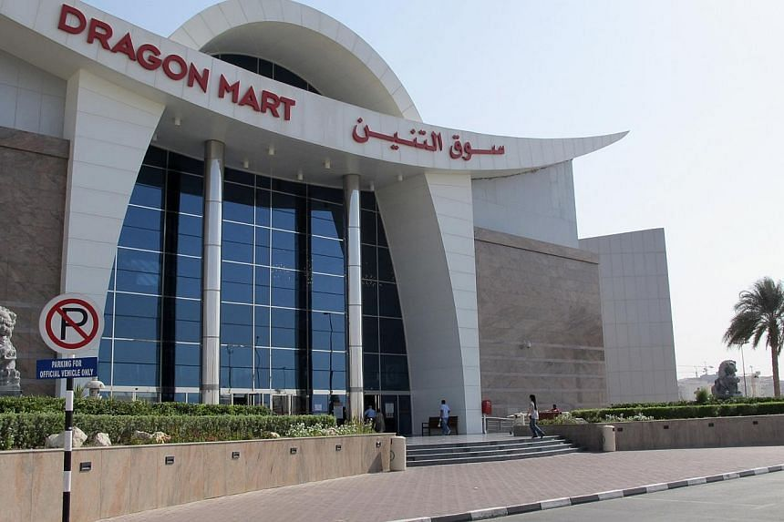 The China Mall - the first phase of the huge Asian Trade Centre project that Malaysian developer UEM Sunrise has now decided to drop - was to be similar to the 15ha Dragon Mart (above) in Dubai.