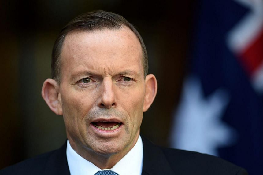 Australian Prime Minister Tony Abbott on Tuesday, May 26, 2015, said that the country will seek to strip citizenship from dual nationals who fight with militants overseas or who carry out domestic attacks. -- PHOTO: AFP