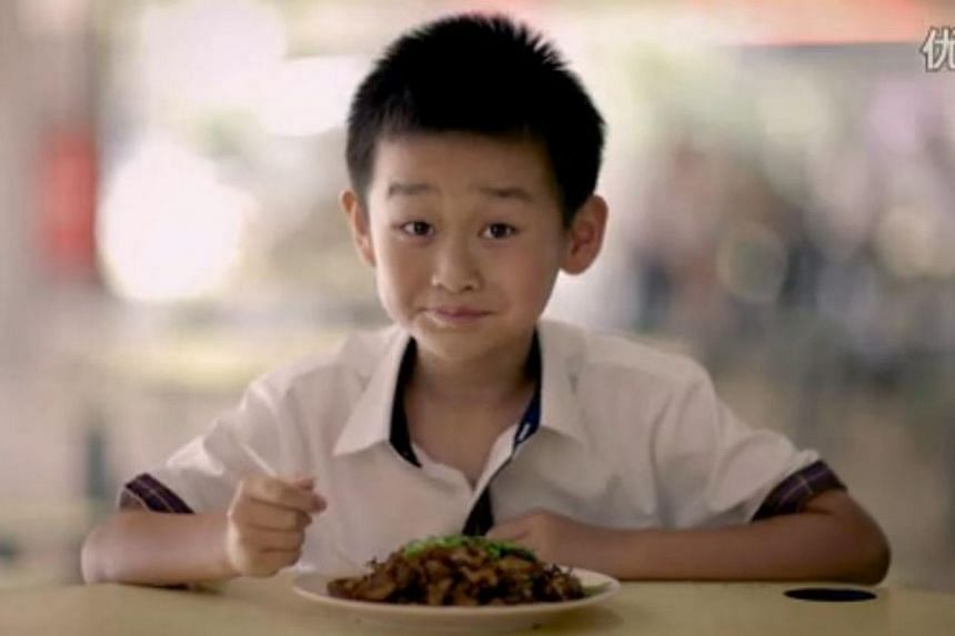 The 10-minute short film for the Chinese market was directed by local director Royston Tan and features a boy from China visiting Singapore on a school exchange programme. -- PHOTO: YOUKU