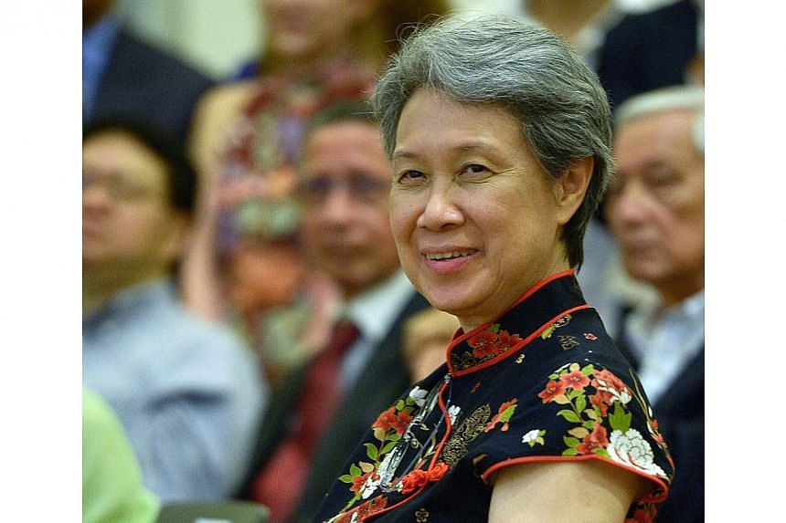 Temasek Holdings CEO Ho Ching moved up to No. 43, from 59th spot last year.-- PHOTO: ST FILE