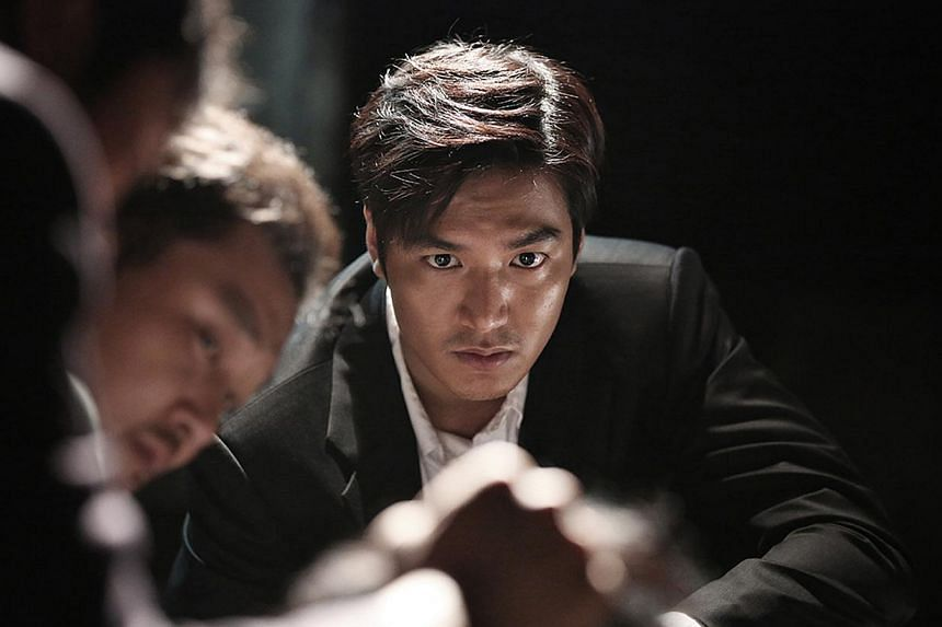 Lee Min Ho had been nominated for Best New Actor for his movie Gangnam Blues (above), but the prize was given to JYJ singer Park Yu Chun for his thriller Sea Fog-- PHOTO:GOLDEN VILLAGE PICTURES