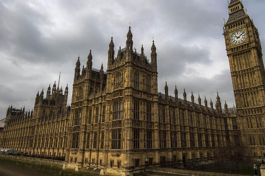 """A general view of the Palace of Westminster, with the Great Westminster Clock, more commonly known as """"Big Ben"""" seen on April 5, 2015 in London. -- PHOTO: AFP"""