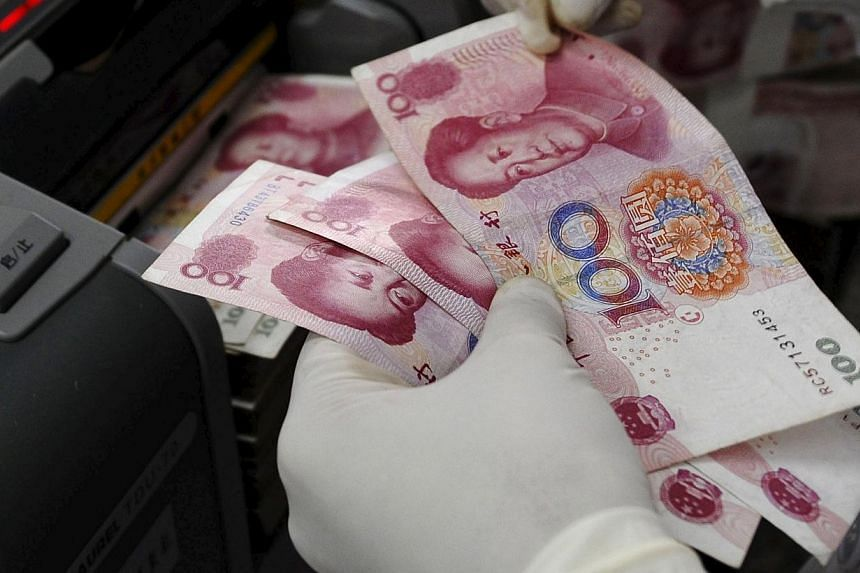 The yuan has become Asia's most-active currency for payments to China and Hong Kong, according to the Society for Worldwide Interbank Financial Telecommunications (Swift). -- PHOTO: REUTERS