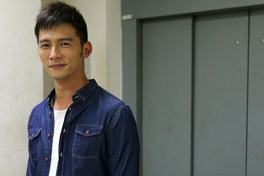 Taiwanese actor James Wen (above), who loves the bak kut teh here. -- PHOTO: LIANHE ZAOBAO