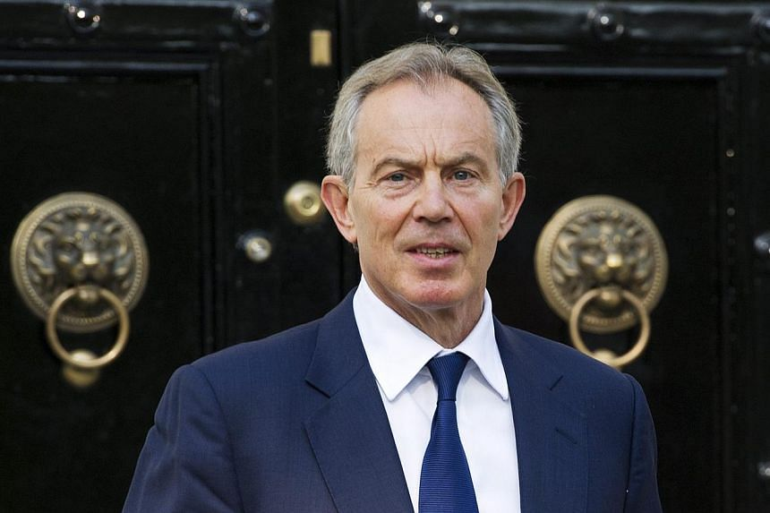 Former British prime minister Tony Blair has resigned as the envoy of the Middle East Quartet diplomatic group, according to a source close to him. -- PHOTO: EPA