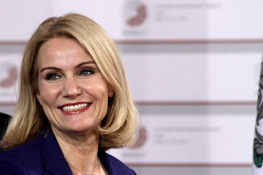 Danish Prime Minister Helle Thorning-Schmidt on Wednesday, May 27, 2015, called an election for June 18. -- PHOTO: EPA