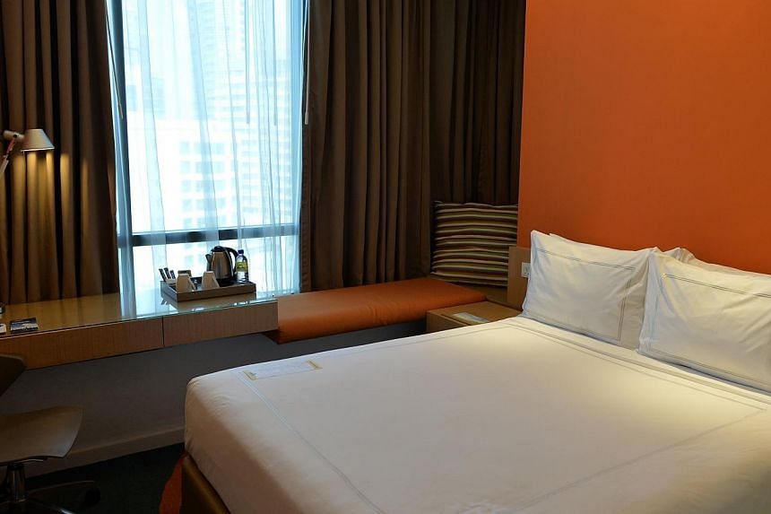 The football teams will be staying at Days Hotel Singapore at Zhongshan Park in Balestier during the SEA Games. -- ST PHOTO: CAROLINE CHIA