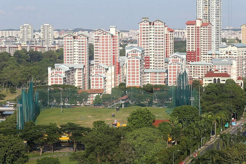 The new junior college site at the junction of Sin Ming Avenue and Marymount Road, on the site of the Asian Golf academy near Bishan. -- ST PHOTO: SEAH KWANG PENG