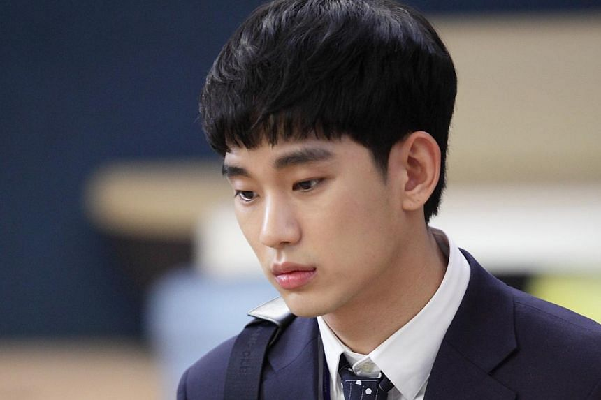 Kim Soo Hyun (above) plays a View it new producer at South Korean network KBS while Cha Tae Hyun and Kong Hyo Jin are the veterans in The Producers. -- PHOTOS: STARHUB