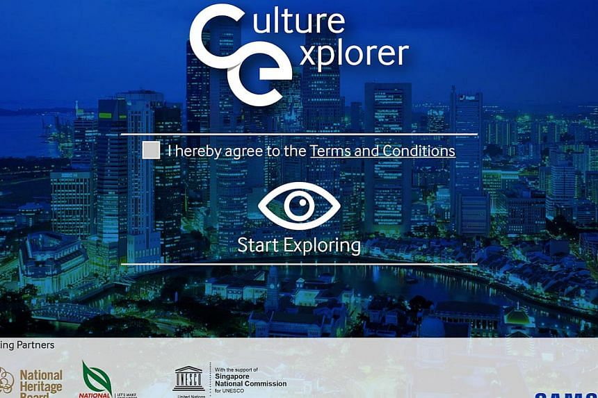 Curious about the history of the Singapore Botanic Garden? A new mobile app designed to facilitate understanding and appreciation of historical landmarks will let you have heritage information at your fingertips. -- PHOTO: CULTURE EXPLORER/ GOOGLE PL