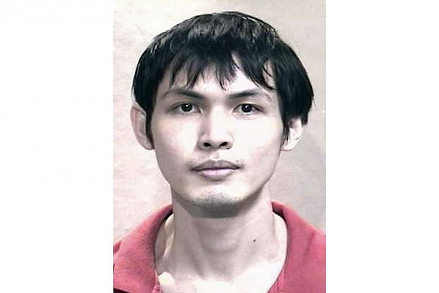 Chang Kar Meng was sentenced to 17 years' jail and the maximum 24 strokes of the cane after he pleaded guilty to one count each of rape and robbery with hurt at about 1.30am on March 8, 2013. -- PHOTO: SINGAPORE POLICE FORCE