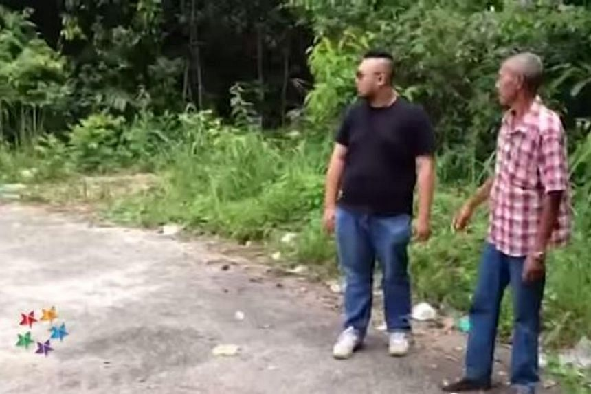 Villagers in Malaysia's Kampung Wang Kelian have been bumping into Rohingya migrants and members of the people smuggling syndicate in recent years. -- PHOTO: THE STAR/YOUTUBE
