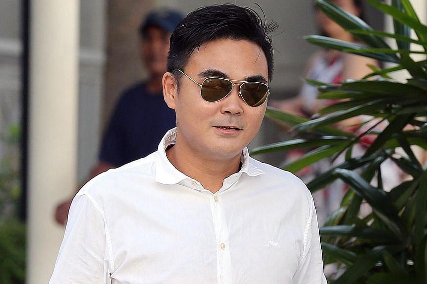 Edmund Lim Hong Ching, 33, faces two counts of cheating involving $1,600. -- ST PHOTO: SEAH KWANG PENG