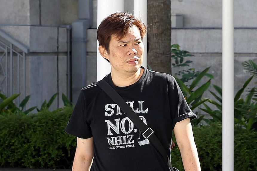 Kelvin Lim Zhi Wei, 32, was charged with one count of cheating involving $330. -- ST PHOTO: SEAH KWANG PENG
