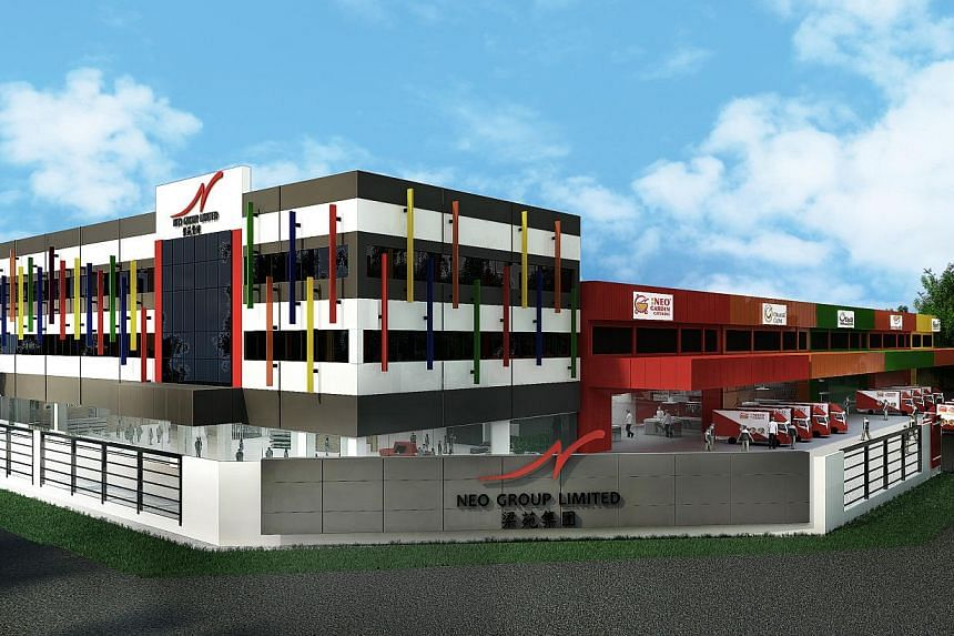 Neo Group's new central kitchen and corporate headquarters at 1 Enterprise Road became fully operational only in November, but the group is already planning another facility at 30B Quality Road.