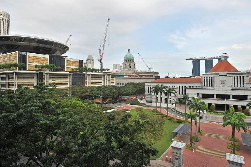 The Supreme Court (left) and Parliament House (right). Singapore has a Constitution that is indisputably supreme in law and in fact. It shares features with others: parliamentary democracy and Cabinet government in the Westminster mould, the rule of
