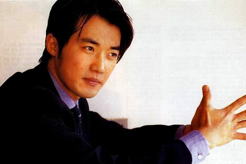 Ahn Jae Wook (seen here in 1998 drama Sunflower), one of the first Korean Wave stars was also set to get married on Sunday, May 31, 2015. -- PHOTO: MEDIACORP