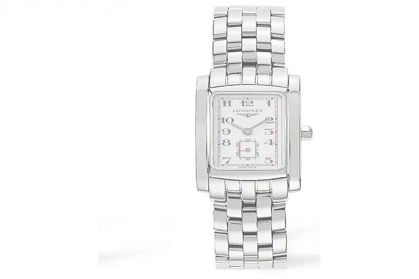 Longines, the official timekeeper for Roland Garros, is giving away a woman's timepiece in a readers' contest with The Straits Times. -- PHOTO: LONGINES