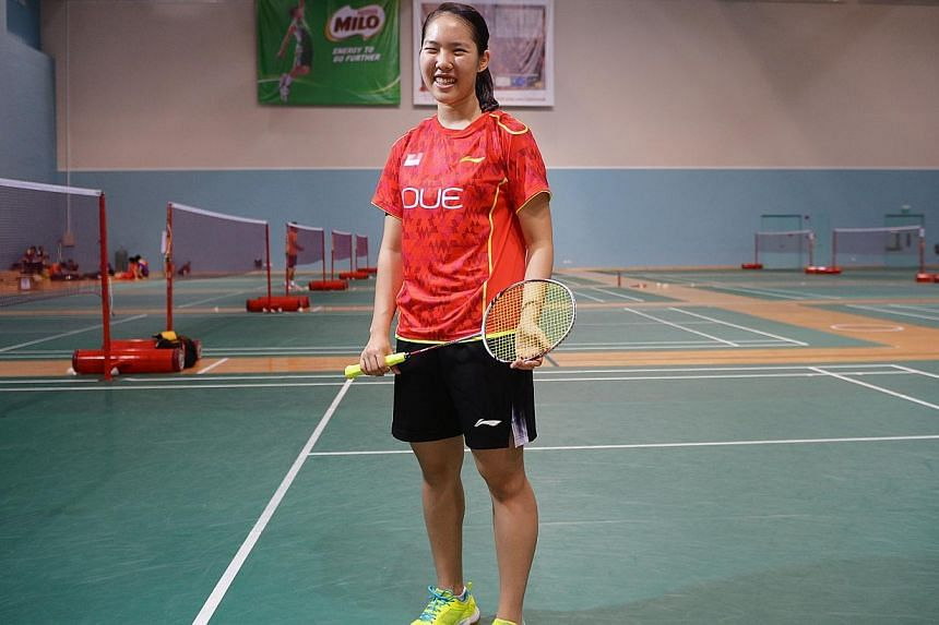 Badminton SEA Games debutante Grace Chua, who excels in both sport and studies, scoring 44 out of a maximum 45 points for her IB exams last year, will be delaying her university studies to focus on badminton.