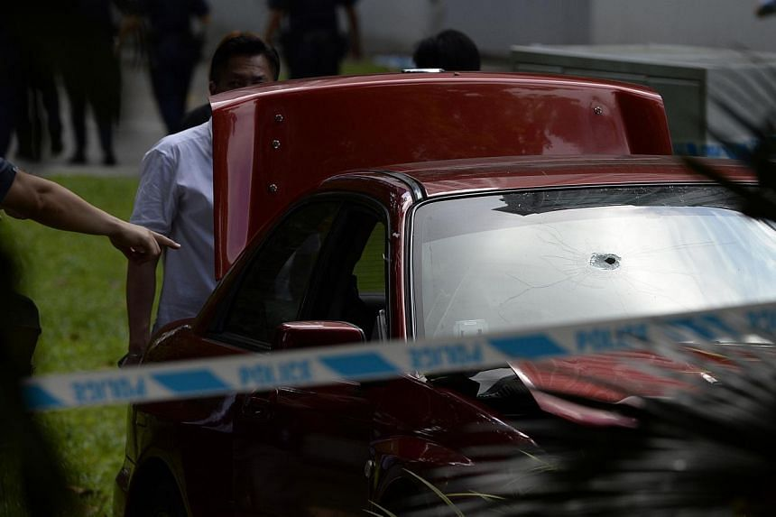 The 34-year-old car driver was shot dead after defying police warnings to stop and crashing through the police barricades near Shangri-La Hotel.