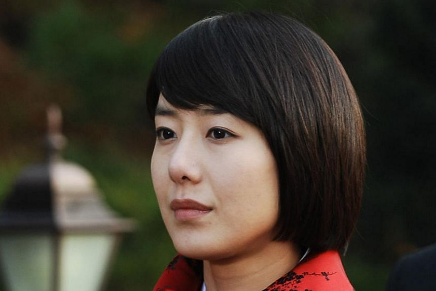 Korean actress Yoon Jung Hee (seen here in 2009 drama Glory of Family) was also married in Bali last Friday, according to entertainment reports. -- PHOTO: MEDIACORP