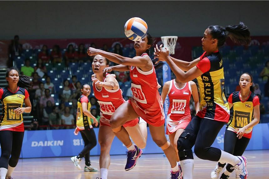 The first netball match of the SEA Games with hosts Singapore playing against Brunei on 31 May, 2015. Brunei emerged victorious in a tightly-contested match against Myanmar on June 1, 2015, winning 56-47 in the first match of the second day of the ne