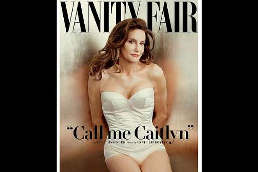 Caitlyn Jenner, formerly Olympic gold medalist Bruce Jenner, as pictured in her new identity asa female, on the cover of the July issue of Vanity Fair magazine. -- PHOTO: VANITY FAIR