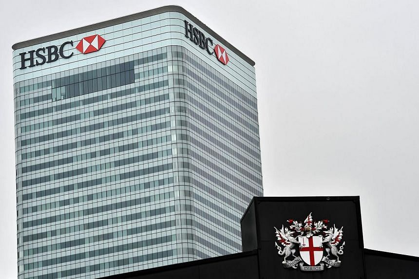 HSBC, Europe's largest bank, will announce a plan next week to cut thousands of jobs, Sky News reported, citing unidentified people close to the matter. -- PHOTO: AFP