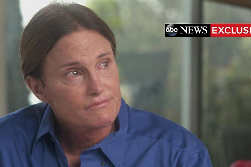 Bruce Jenner is seen as he sits down with ABC News anchor Diane Sawyer for a two-hour interview that aired during a special edition of ABC News' 20/20 on April 24, 2015, in this handout courtesy of ABC News. -- PHOTO: REUTERS